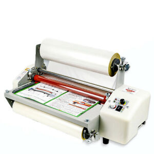 12th 8350t A3 Four Rollers Laminator Hot Roll Laminating Machine 110v