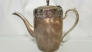 Vintage Japan Silver Windsor Series Teapot Handfinished Silver Plated
