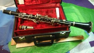 Evette Buffet Crampon E11 Wood Clarinet Vintage C1976 Boehm System Germany