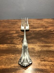 Oneida 1880 Pairpoint Rogers Silver Plate Marcella Clifton 1905 Meat Fork