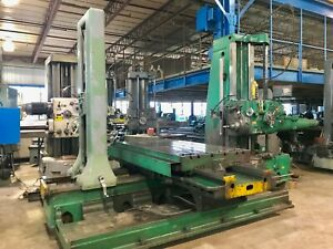 5 Giddings Lewis Horizontal Boring Mill 350t 50 Taper Built In Outriggers