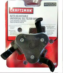 New Craftsman Auto Adjustable Universal Oil Filter Wrench 02820523