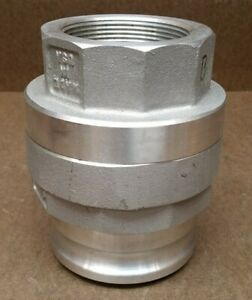 Pt Coupling Company Sta Lok 316ss Stainless Steel Camlock Coupling