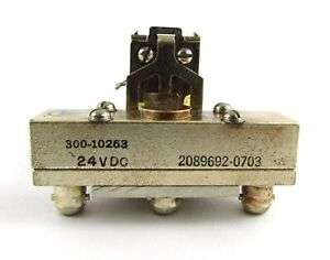 Amphenol 24 Vdc Relay 3mb Female Rf Coax Connectors 300 10263 Open Frame Switch
