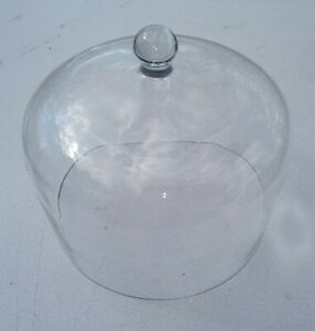 9gg35 Glass Dome 7 Od 6 Tall 6 13 16 Id 4 Tall Inside Factory Second