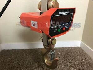 10 000 Lb Overhead Hanging Digital Weighing Crane Scale W wireless Remote