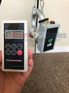 6 000 Lb Overhead Hanging Digital Shackle Crane Scale W Wireless Remote