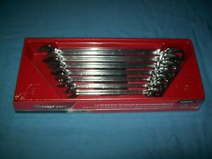 New Snap On 3 8 Thru 3 4 12 Pt Flank Drive Plus Ratchet Wrench Set Soxrr707