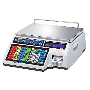 Cas Cl5500b 60 ne Label Printing Scale Built in Ethernet 60lb X 0 02lb Ntep
