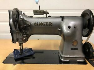 Singer 144w103 Extra Heavy Duty Walking Foot Big Hook Industrial Sewing Machine