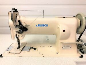 Juki Lu 563n Walking Foot Big Bob rev New 110v Servo Industrial Sewing Machine