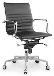 Modern Classic Aluminum Office Chair In Black id 3712051