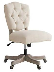 Kelsey White Office Chair In Gray id 3708282