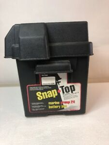 Snap Top Marine Battery Box For Rv And Automotive Batteries