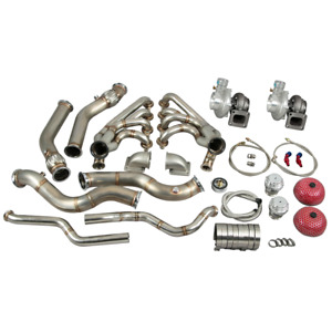 Cxracing Twin Turbo Manifold Downpipe For 68 74 Chevrolet Nova Ls1 Lsx Engine