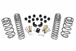 Rough Country 3 75 Inch Combo Lift Kit 97 06 Jeep Wrangler Tj