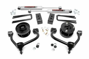 Rough Country Bolt on Lift Kit With Shocks For 14 18 Ford F 150 4wd 54530