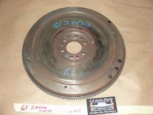 Oem 61 Chevy Impala L6 Straight 6 Cylinder Engine Flywheel Flexplate 875410