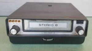 Gibbs Solid State 8 Track Car Stereo Player Model 335n Untested