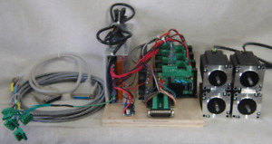 4 Axis Drive Set With 4 269 Oz in stepper Motors For Cnc Sherline Taig Router