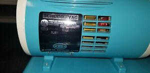 Schuco Vac Aspirator Vacuum Pump With Canister