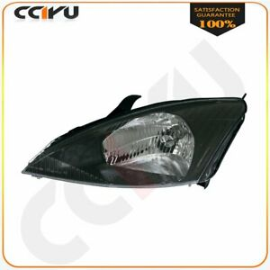 With Bulb Passenger Right Side Head Lamp W Svt For 2002 2003 Ford Focus
