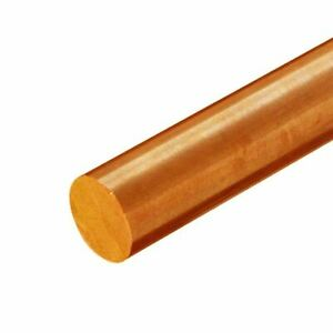 C510 Phosphor Bronze Round Rod 0 437 7 16 Inch X 60 Inches