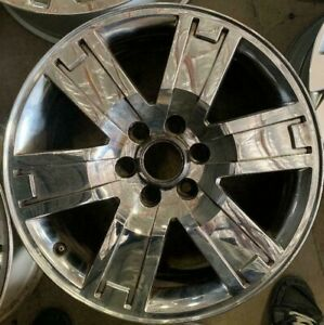 20 Inch 2007 2011 Ford F 150 Expedition King Ranch Oem Chrome Wheel Rim 3659 B