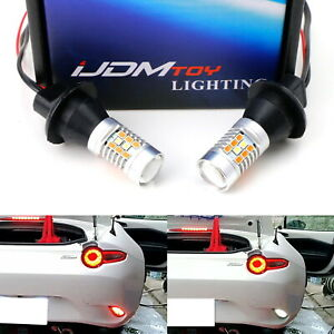 Red White Led Rear Fog Reverse Light Conversion Kit For 2016 Up Mazda Mx 5 Nd