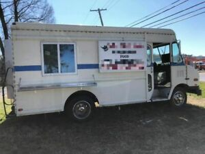 Chevy Diesel 1994 Mobile Kitchen Food Truck W Pro Fire Suppression For Sale In