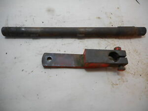 Case 730 930 Series Clutch Release Lever Shaft Great Shape Clean