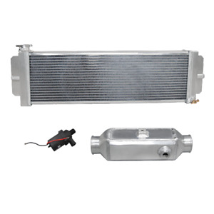 Cxr Aluminum Barrel Style Liquid To Air Intercooler Heat Exchanger Water Pump