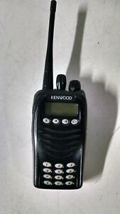 Kenwood Tk 3170 k4 Uhf Fm Handheld Two Way Radio Walkie Talkie Incomplete