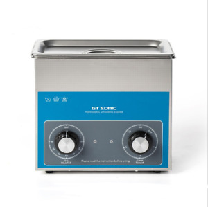 Ce Stainless Steel 3 L Liter Industry Heated Ultrasonic Cleaner Heater timer