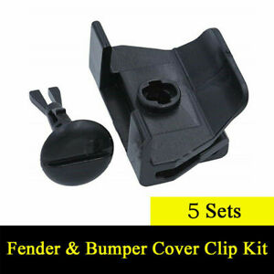 Car Front Fender Bumper Covers Clip Kit Parts For Toyota Camry Corolla Lexus