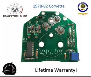 78 82 Corvette Tachometer Circuit Board New Gm Compatible Quality You Can See