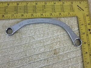 Craftsman V 9 16 X 5 8 Obstruction Half Moon Box End Wrench 94376 Rare New