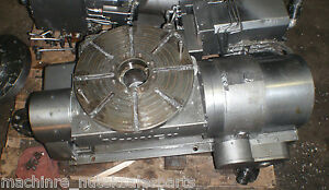 15 Nikken Cnc Trunion Rotary Table_4th 5th Axis_5 Axis Hmc Vmc Index