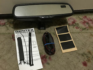 New 2000 2019 Ford Auto Dim Rear View Mirror With Compass Gentex Oem