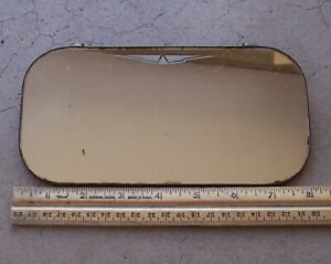 Vintage Accessory Clip On Inside Sun Visor Vanity Mirror 4 X 8