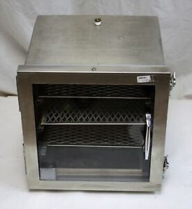Stainless Steel Vacuum Desiccator Dry Box Id 12 x11 x10 W 2 Shelves