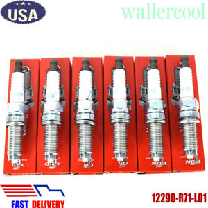 6pcs New Genuine Oem Ngk Honda Iridium Spark Plugs 12290 R71 L01 Dilzkr7a11g Us