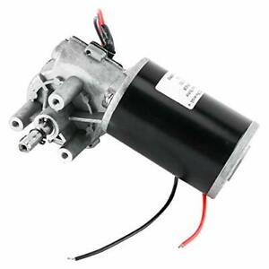 Dc 24v 80w High Torque Reversible Electric Gear Motor 160rpm Right Angle