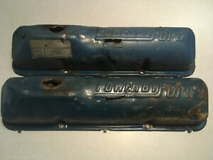 Power By Ford Fe Valve Covers Oem Stock Mustang 352 390 406 427 428 1958 1969