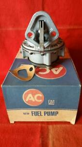 1958 Corvette Ac Delco Replacement Fuel Pump Nos 4445 Gm 5621638 1958 Early Nib