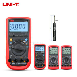 Uni t Digital Automobile Multimeter For Car Ac Dc Dwell Tach Temp Ohm Freq Test