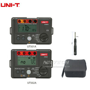 Uni t Digital Earth Ground Insulation Resistance Tester Megohmmeter Voltmeter