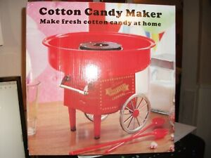 New Old Fashioned Table Cotton Candy Maker Machine Party Cart Spinner Electric