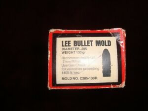 Lee Bullet Mold C285-130R 7mm 130 gr with handles!!