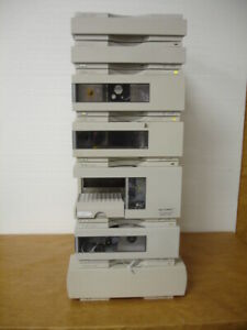 Agilent 1100 Hplc System With G1315b Dad And G1321a Fld Detector G1311a 12059